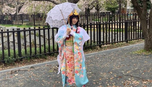 【活動日記】小倉城桜まつり&小倉城姫(2019.03.30)